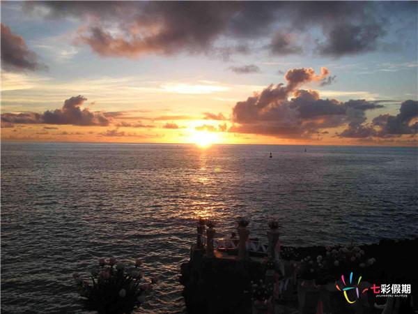 塞班岛景点-塔加海滩