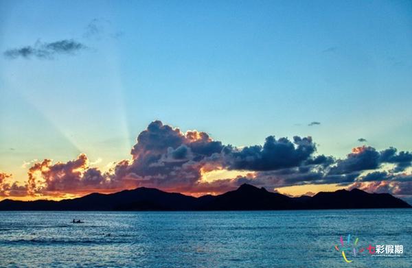 塞舌尔三连滩——博蒂特海滩