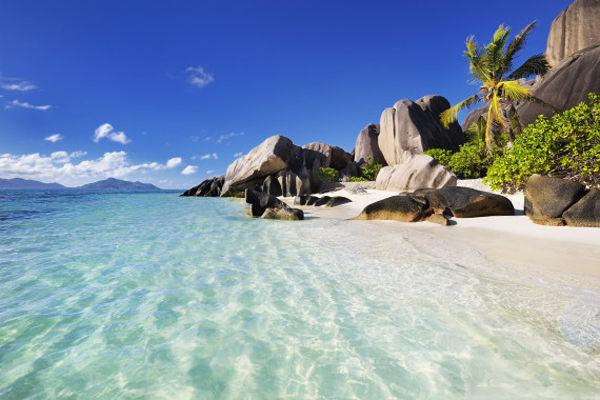塞舌尔可可斯海滩
