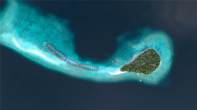 马尔代夫新岛娇丽岛