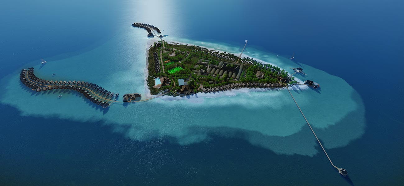 瑰宝酒店 Heritance Aarah Maldives Luxury Resort