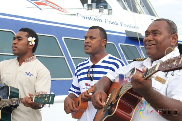 斐济欢迎中国游客到来