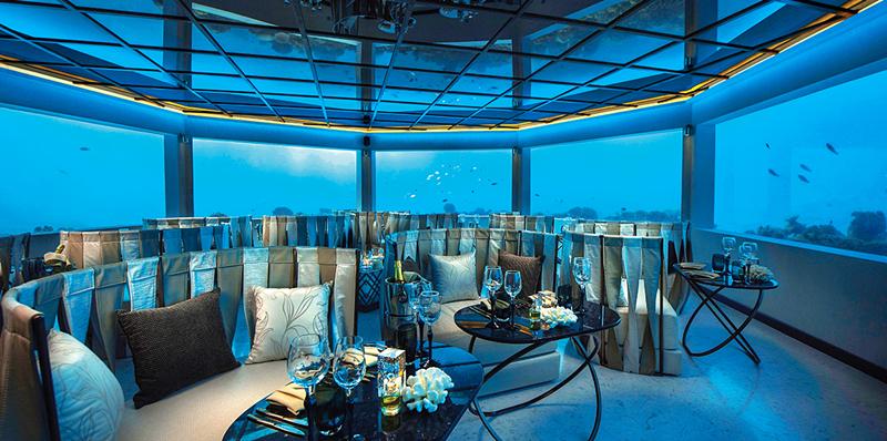 马尔代夫水下餐厅