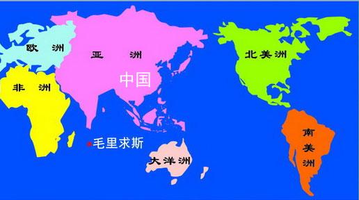 毛里求斯地图