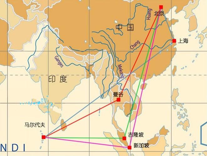 马尔代夫地理位置中文版