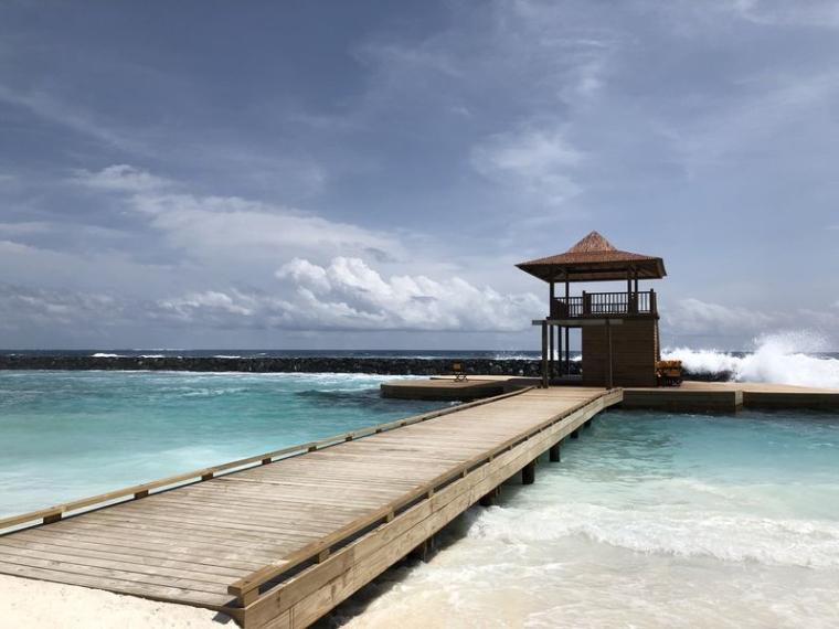 马尔代夫奥静岛迟到的蜜月旅行